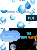 Water Resources- PPT