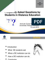 FAQ by Student in de Dies UT29