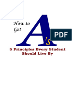 E-book- How to Get a's
