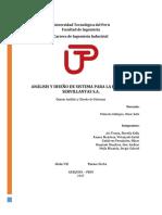 Análisis y Diseño de Sistema Para La Empresa Servillantas s.a.