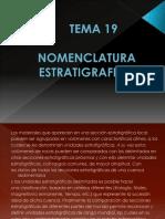 Tema 19 Nomenclatura Estratigrafica