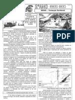 Geografia - Pré-Vestibular Impacto - Formação do Território Brasileiro II