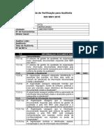 Lista de Verificação Para Auditoria