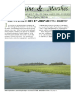 Winter-Spring 2005-06 South Carolina Environmental Law Project Newsletter
