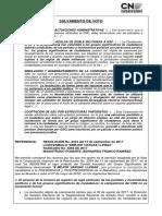 SV Res 2334-17. Rad. 6266-17 Logo Vargas Lleras - Doble Militancia