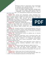 fungsi tombol F1 dll pada dell.rtf