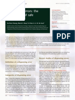 Medication Errors- The Importance of Safe Dispensing