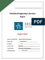 Impact of Jet