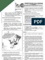 Geografia - Pré-Vestibular Impacto - Formação Histórico Territorial Brasileira - Exercícios I