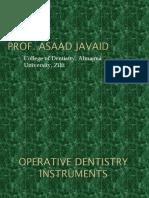 Dental Operator Instruments