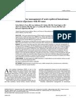 Endovascular management of acute epidural hematomas