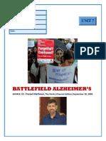 Batltlefield Alzheimer
