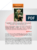 Jean Piaget - Vida e Obra