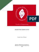 Finger Vein Verification (24 Pgs)