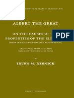 On the Causes of the Propertie - Resnick, Irven Michael & Alber_5621