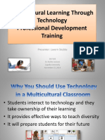 multicultural learning through technologyppt
