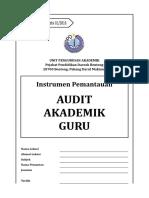 2016 INSTRUMEN Audit Akademik