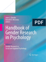 Handbook of Gender Research in Psychology Vol.2