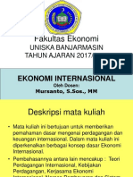 Power Point Ekonomi-Internasional (Pembelajaran)