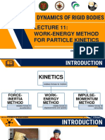 Lec 11 Work Energy Method for Particle Kinetics
