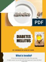 presentation diabetes