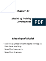 Chapter-13 Models of Training and Development-.pptx