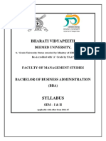 Bba Syllabus