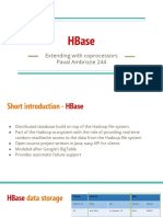 HBase Coprocessors - Paval Ambrozie