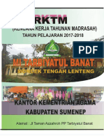 Rktm Terbaru 2017-2018 Mi Tarbiyatul Banat