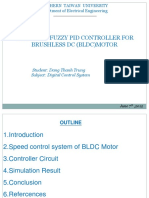 Design of Fuzzy Pid Controller for Bldc