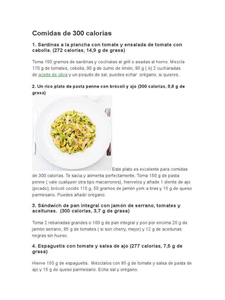 fideos cocidos calorias gramos