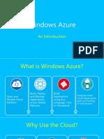 ¿Porque usar Microsoft Azure?