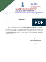 Vijaya Lakshmi Letter Pad