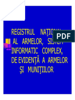 Registrul National Al Armelor