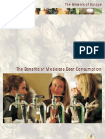 The Benefits of Moderate Beer Consumption