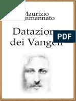 DatazioneVangeli eBook
