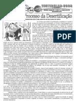 Geografia - Pré-Vestibular Impacto - Região Nordeste - A Seca e o Processo de Desertificação