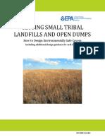Small Dump Landfill Closure Guidance