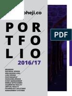KoohejiCo Portfolio 2017
