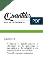 Stat21 Chapter 4 Quantiles