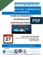 III Encuentro de PRL y Emergencias - Alcobendas, 27/10/2017