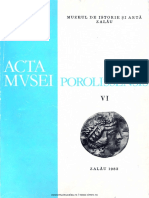 06. Acta Mvsei Porolissensis, VI (1982)-Zalau