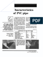 Characteristics of Pvc Pipe