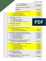 Day 5 Budget Schedule