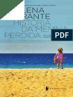 Historia Da Menina Perdida - Elena Ferrante