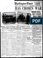 1. the Washington Times 28.7.1914
