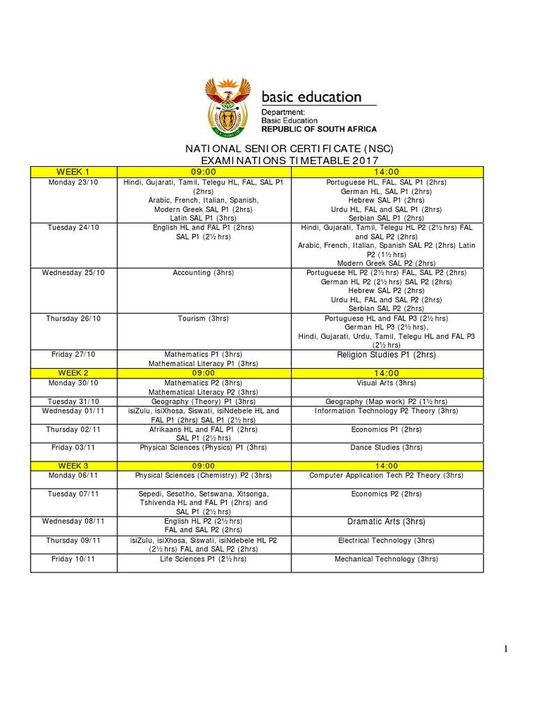 isizulu p2 examination