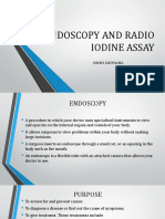Endoscopy and Radio Iodine Assay Ppt
