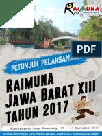 Juklak Raimuna Jabar Xiii Tahun 2017 Fixs-1