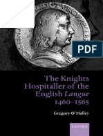 Gregory O'Malley-The Knights Hospitaller of the English Langue 1460-1565-Oxford University Press, USA (2005)